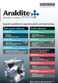 Araldite 2000+ Range - new literature 2009