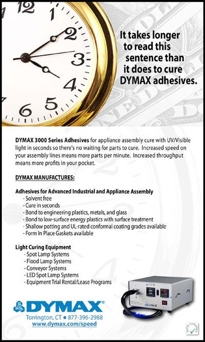DYMAX Bonding Plastics at speed