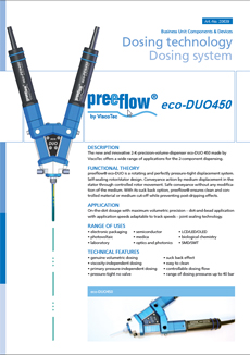preeflow eco-DUO 450  Datasheet