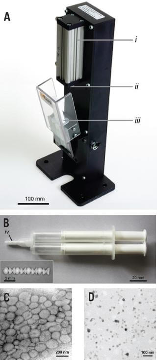 Specially designed syringe dispenser for disposable dual barrel polypropylene syringe