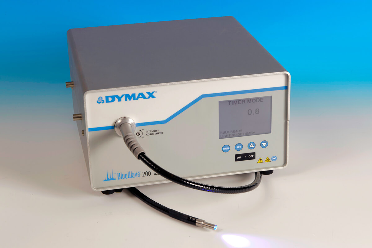 Dymax BlueWave 200 3.0 spot curing UV lamp