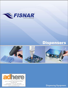 Fisnar Dispensing equipment catalogue