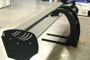 Araldite adhesives bond racing car wing
