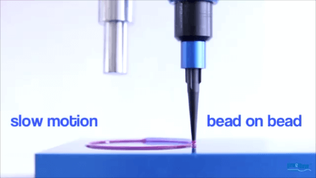 Bead-on-bead FIP seal