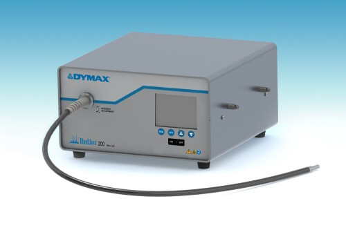 The Dymax BlueWave 200 high intensity UV spot curing system from Intertronics