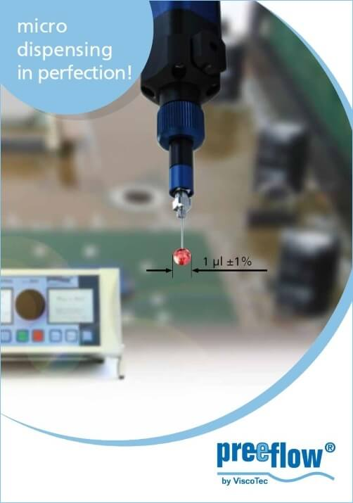 preeflow brochure for micro dispensing