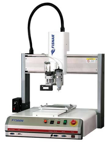 F7000NV dispensing robot with vision