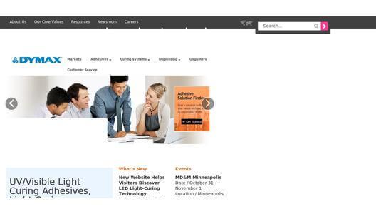 Dymax website