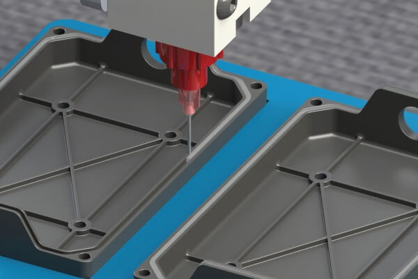 GA-201 UV cure FIP gasket material from Intertronics