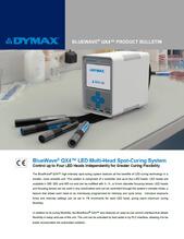 Dymax Bluewave QX4 product bulletin