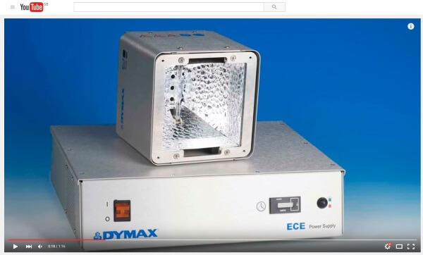 Dymax ECE Series UV Curing Flood Lamps