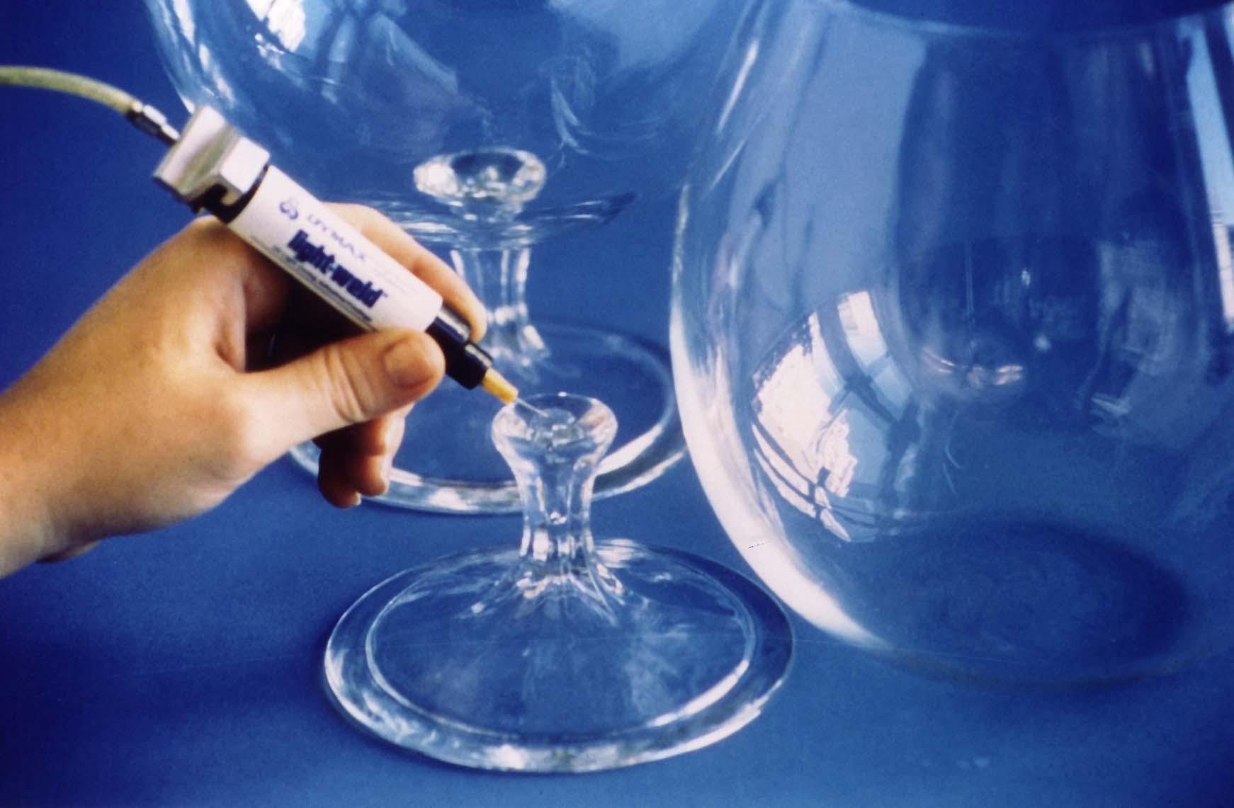 Uv Curing Glass Bonding Adhesives Www Intertronics Co Uk