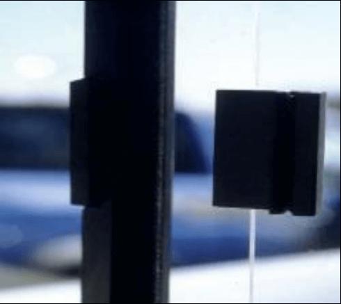 Glass bonding for window fixtures