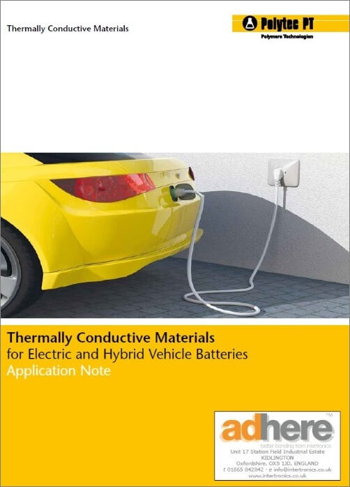 Thermally Conductive Materials for Electric and Hybrid Vehicle Batteries