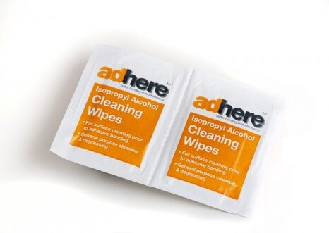 ADH 1610 cleaning wipes with IPA isopropyl alcohol