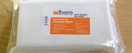 ADH 1611 isopropyl alcohol IPA wipes pouch