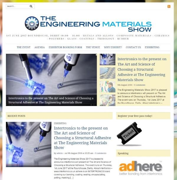 engineering materials show