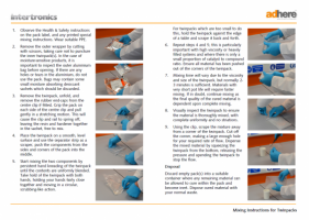 Mixing instructions for adhesives - twinpacks snapshot