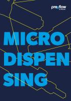 preeflow Microdispensing Brochure Cover