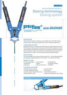 preeflow ecoDUO450 datasheet