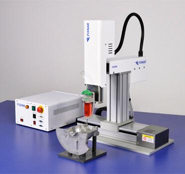 Fisnar F5200N.1 dispensing benchtop gantry robot