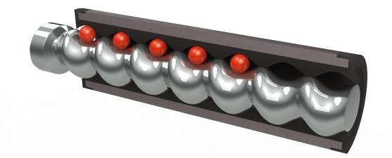 Progressive Cavity Pump Rotor-Stator