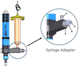 Cartridge adapter for preeflow eco-PENs