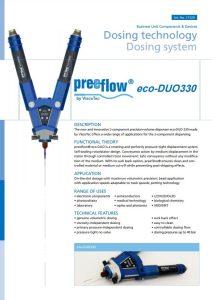 preeflow eco-DUO 330 datasheet