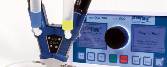 preeflow® eco-DUO High Precision Volumetric Mixing and Dispensing System