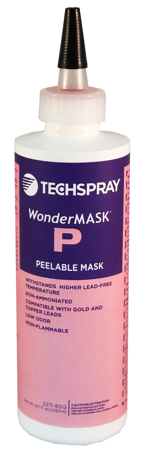 TEC2211-8SQ Wondermask© P peelable solder mask