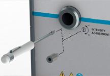 Dymax Bluewave 200 UV curing spot lamp intensity adjustment