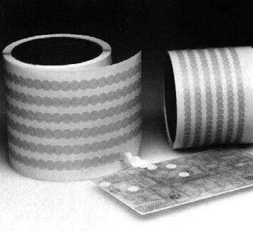 Solder Masking Dots And Tape Masking For Soldering
