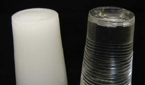 The opalescent properties of Opti-tec 4220 compared to Opti-tec 4200 in cured samples