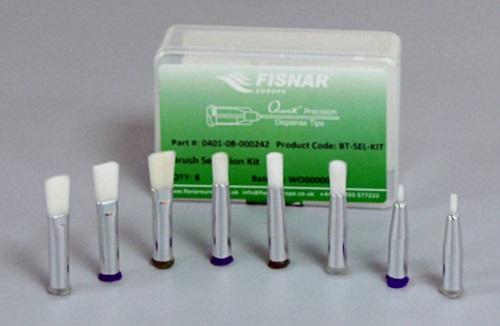 Brush dispensing tips selection pack
