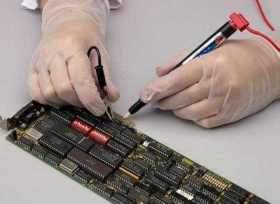 Electro plating pens
