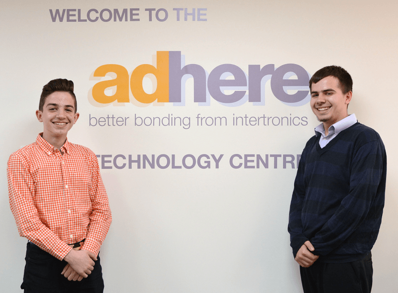 The two students, currently studying for their GCSE's, got stuck in to everyday life here at our offices in Kidlington
