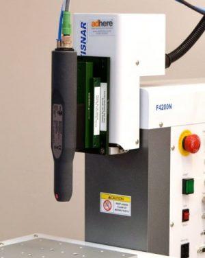Piezobrush PZ2-i automatable plasma surface treatment on a robot