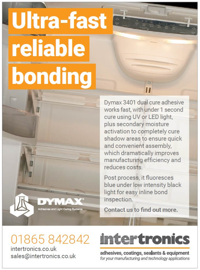 Ultra fast reliable bonding - uv adhesive for plastics