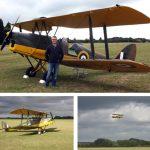 Kevin Cook Tiger Moth Flight