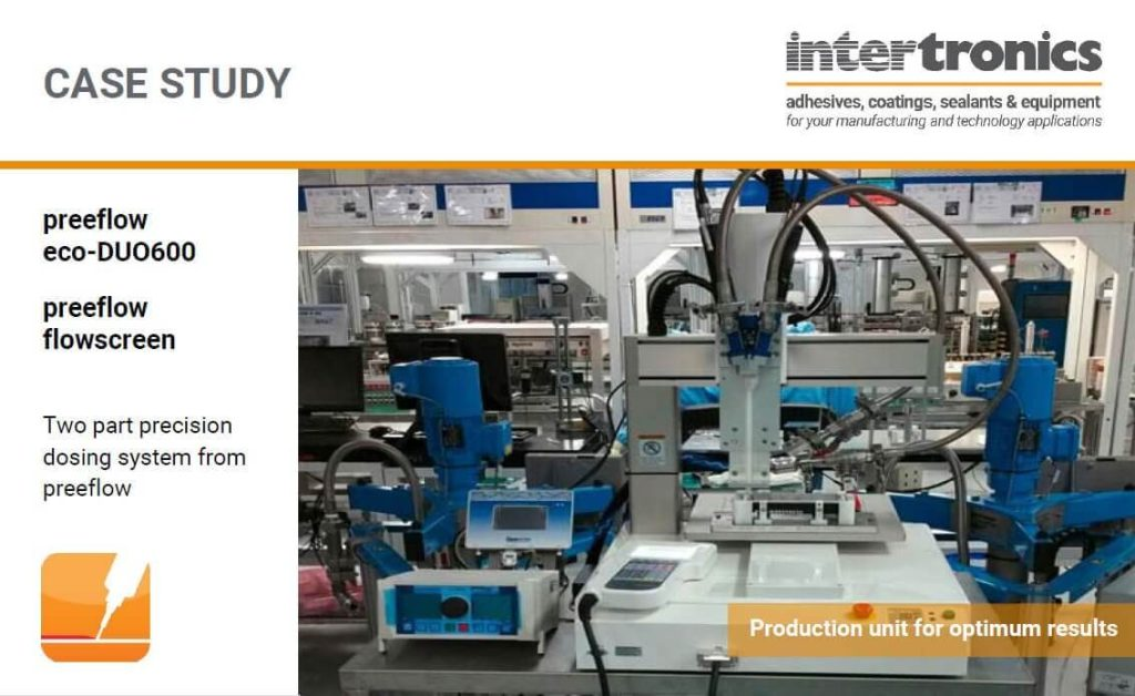 Precision Dispensing for Form-in-Place Gasket Application - Case Study