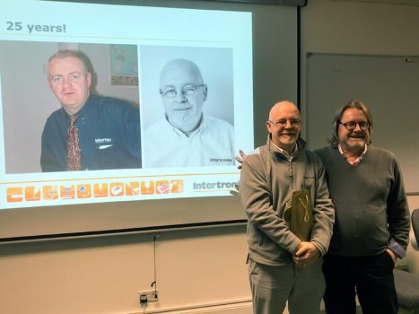 John Heap celebrates 25 years at Intertronics