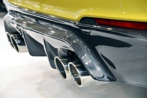 Composite Carbon Fibre Car Bumper