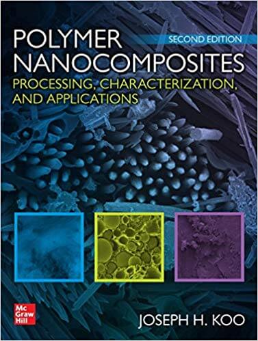 Polymer Nanocomposites: Processing, Characterization, and Applications