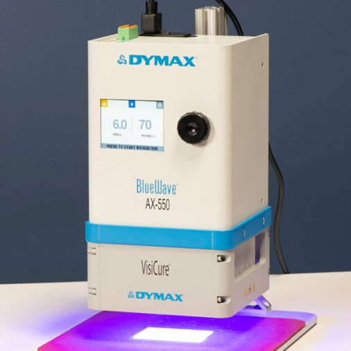 Dymax BlueWave AX-550 with VisiCure 405 nm Emitter