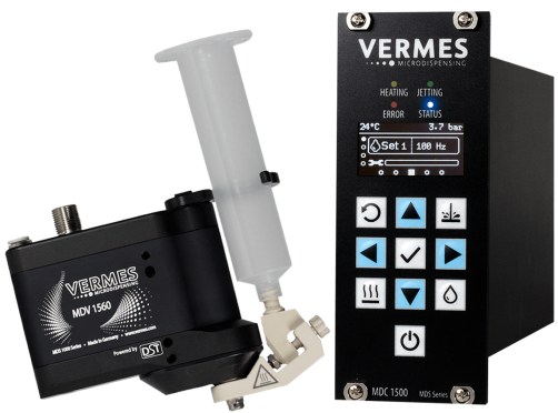 Vermes Microdispensing Jetting Valve System with DST MDS 1560