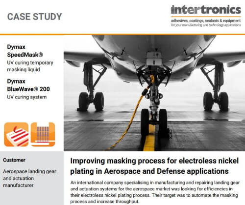 Improving masking process for electroless nickel plating in Aerospace and Defense applications