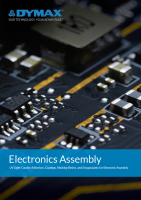 Dymax UV Light Curable Materials for Electronics Assembly Brochure Cover